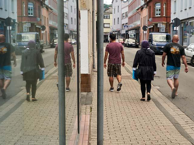 Eine Straße in Deutschland